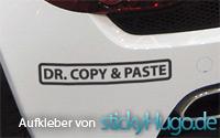 Hochwertige Aufkleber bei www.stickyhugo.de